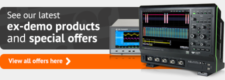See our latest ex-demo products and special offers