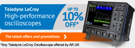 Teledyne LeCroy oscilloscope offers and promotions
